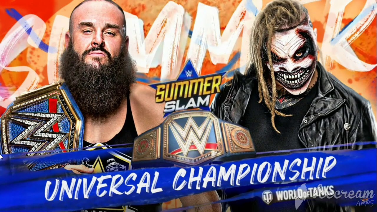 WWE SUMMERSLAM 2020 : Braun Strowman (c) VS Bray Wyatt : WWE ...