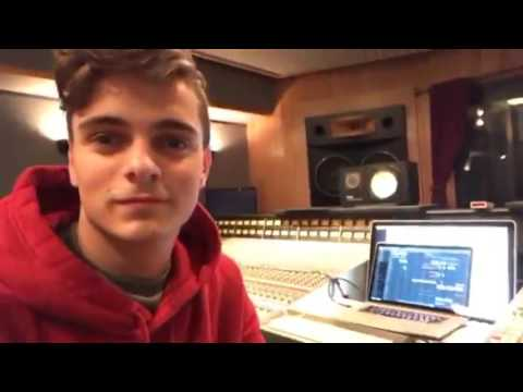 Martin Garrix - Access (OUT NOW!) | First DEMO in LA Studio (February 2017)