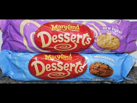 Maryland Cookies Desserts: New York Cheesecake & Mississippi Mud Pie Cookies Review