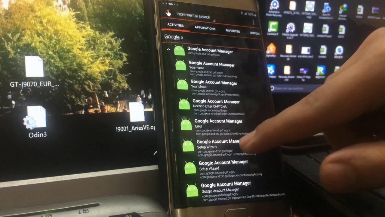6 0 1 Remove/Delete/Bypass All Samsung Google