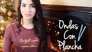 ONDAS CON PLANCHA (tutorial) / Kimberly Loaiza
