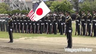 JGSDF 陸上自衛隊第302保安警務中隊 特別儀仗隊 訓練展示