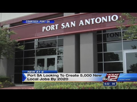 Port San Antonio seeks to make 5,000 new jobs by 2020