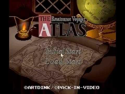 The Atlas Renaissance Voyager (ジ・アトラス) - SUPER FAMICOM - 1995