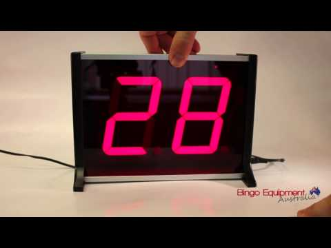Saga 2 Electronic Bingo Machine