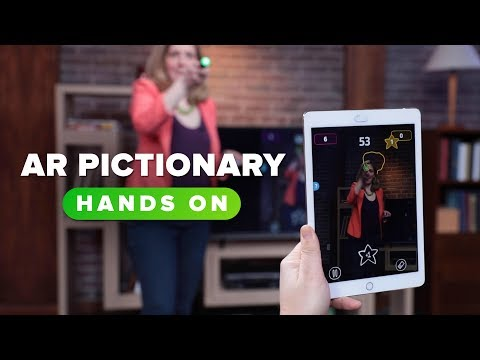 Pictionary Air - a hysterical way to play the classic ...