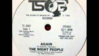 The Night People - Again 1980 PURE DISCO/MODERN SOUL
