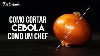 COMO CORTAR CEBOLA | Como um Chef thumbnail