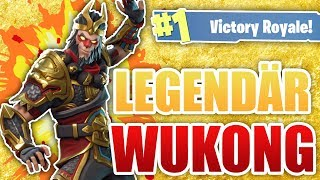 The *NEW* WUKONG (Monkey King) SKIN is DA! + DRACHENAXT! | with TutopolisTV - Fortnite Battle Royale