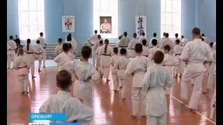Признанный мастер карате дал урок в Оренбурге