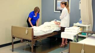 Cna Skill: Occupied Bed/changing Linens