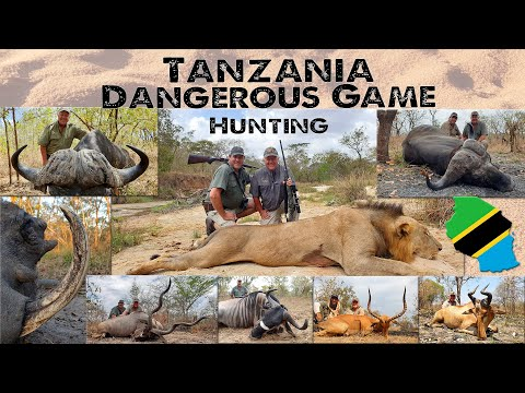 Tanzania Big Game Hunt during Lockdown - Conservation Hunting at its best