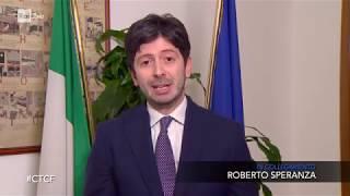L'Italia e il coronavirus: Burioni e il Ministro Roberto Speranza - Che tempo che fa 29/03/2020