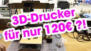 Gambar cover 3D-Drucker für 120€ - Anet A8 - Review & Unboxing