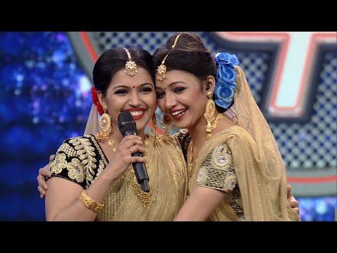 Super 4 I Vidya & Vijitha dance performance I Highlights