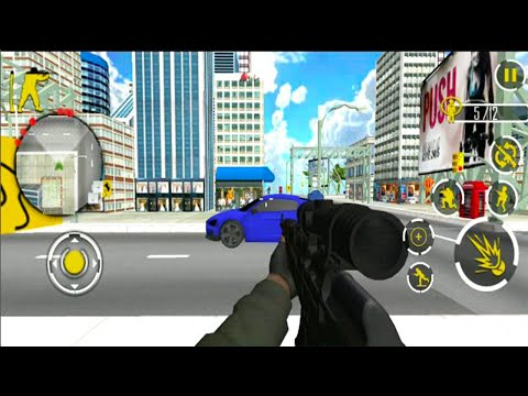 US Army Gun Battle War Combat Shooting Counter - Android GamePlay - FPS Shooting Games Android #7