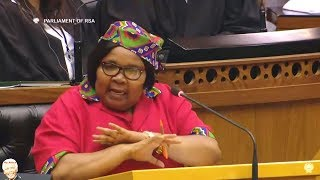 EFF MP Khawula Farewell Speech