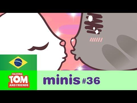 Talking Tom and Friends Minis - Beijo de Cinema (Episódio 36)