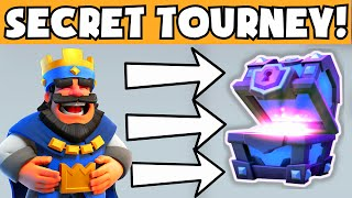 Clash Royale SECRET TOURNAMENT | HOW TO WIN / GET A FREE SUPER MAGICAL CHEST (CLASH ROYAL FREE GEMS)