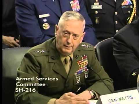 Ayotte Questions General Mattis on Iran