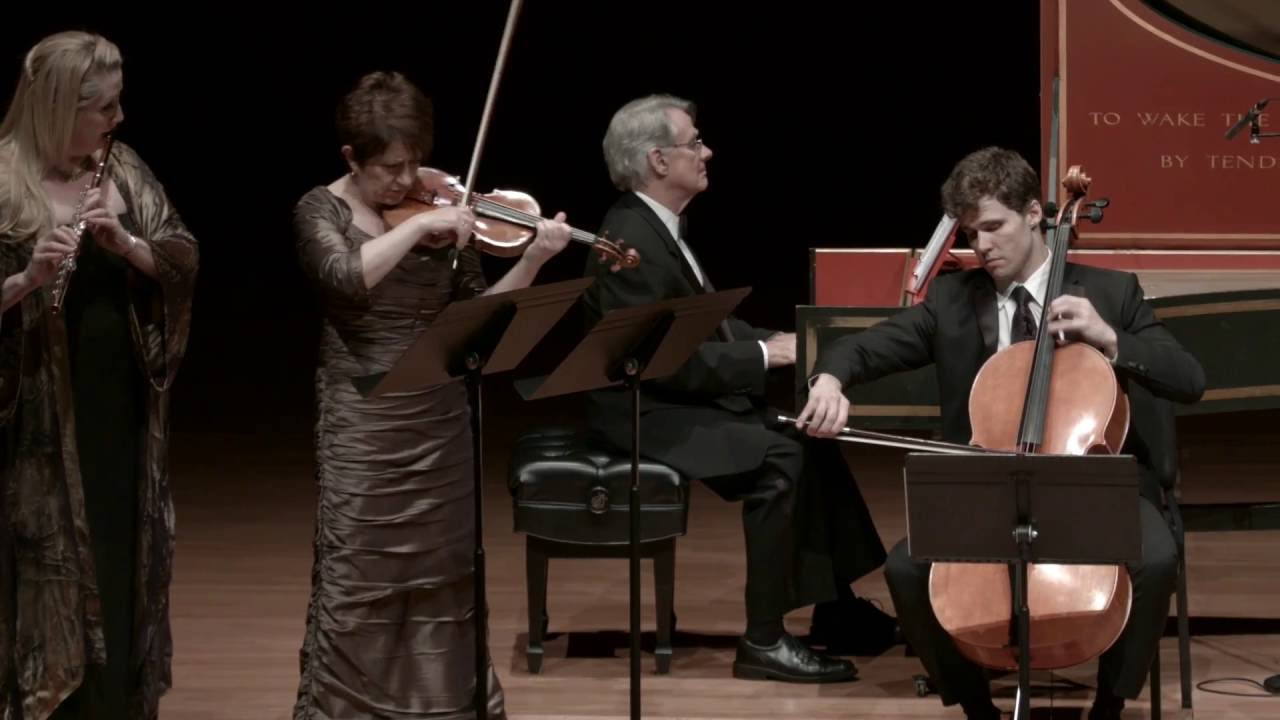 Telemann: Trio in A minor, TWV 42:a4, III. Affettuoso