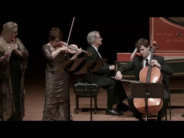 Telemann - Trio in A minor, TWV 42:a4, III. Affettuoso
