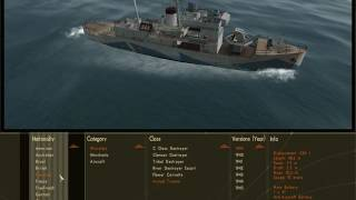Silent Hunter 3 every warship in the game