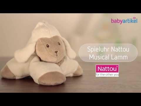 NATTOU Spieluhr Musical Lamm | Babyartikel.de