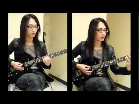 X-JAPAN - Forever Love Guitar Solo (2011_02_28)
