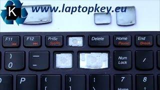 Como Colocar Reparar Mantenimiento Tecla de Notebook Lenovo Ideapad Y580 Y500 Z500 Z710 U510