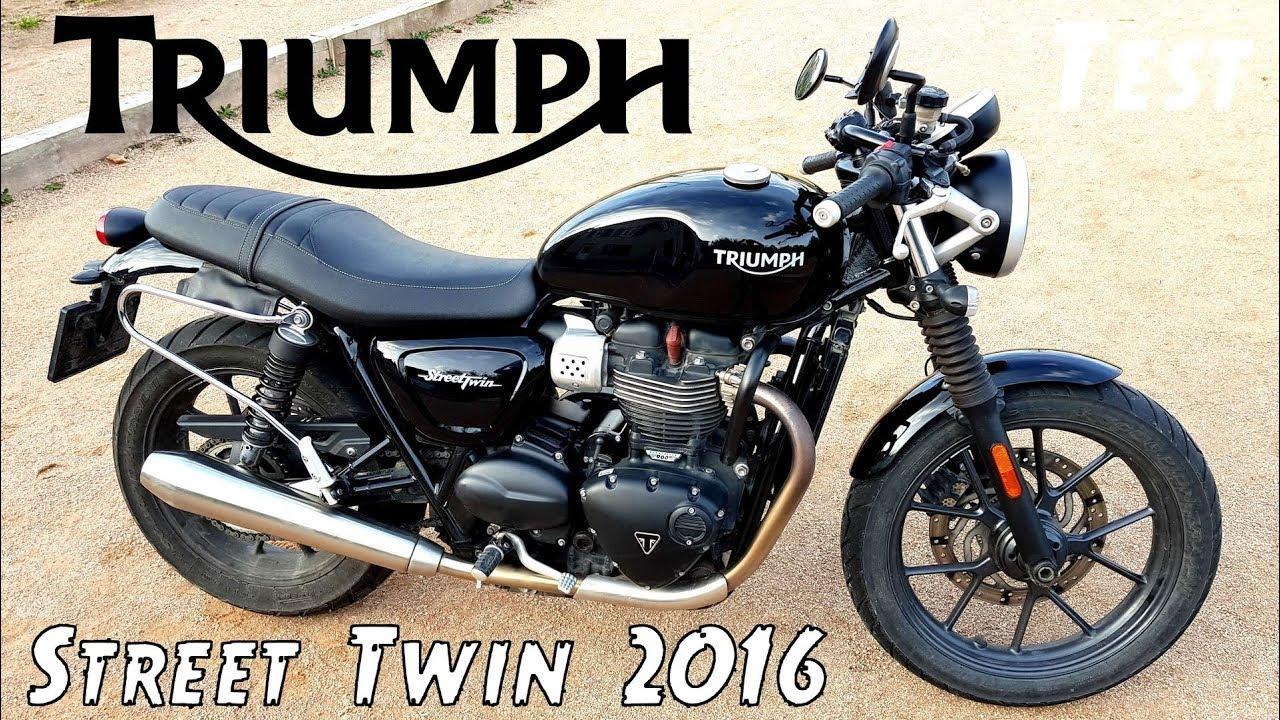 une moto qui serait parfaite avec des freins triumph street twin de 2016 youtube. Black Bedroom Furniture Sets. Home Design Ideas