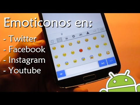 Poner Emoticonos En Facebook, Twitter, Instagram, Youtube...