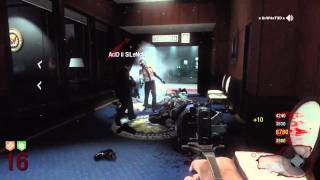 Black Ops: ZOMBIES FIVE Quad Live Commentary (Part 2/2)