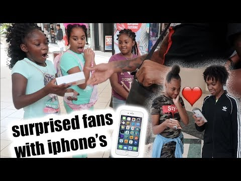 DEDE3X GOT A GIRL NUMBER TODAY & WE GAVE 4 NEW IPHONES AWAY TO FANS!!