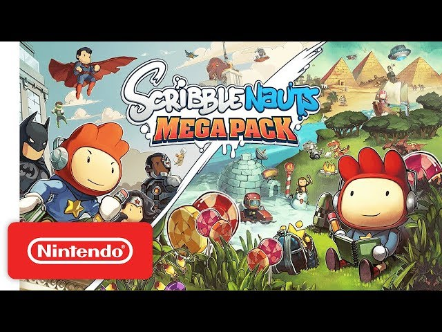 Scribblenauts Mega Pack' Out Now for Switch, PS4, and Xbox