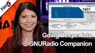 Going Deeper Into GNURadio Companion, Hak5 1601