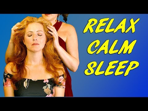 Relaxing & Intensely Calming Hair, Scalp and Head Massage Sounds ASMR