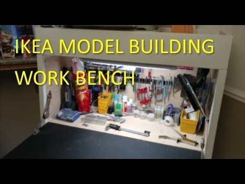Ikea Modeling Workbench For Modelers Without Extra Room