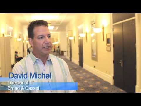 David Michel, Director of IT, Broad Cassel - BigHand Speech Recognition