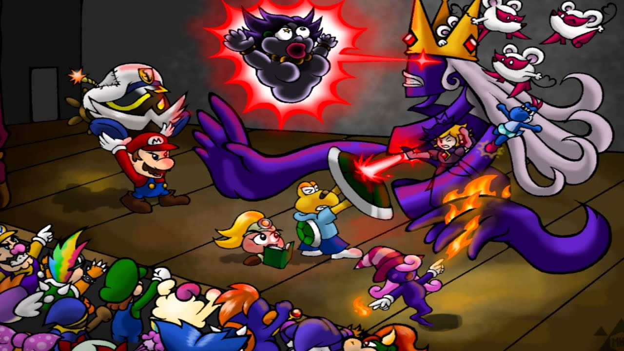 Paper Mario The Thousand Year Door Normal Battle Remix Youtube