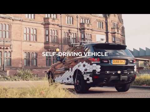 First on road tests for self driving Jaguar Land Rovers