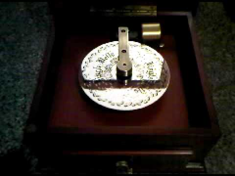 Thomas Pacconi Christmas Music Box