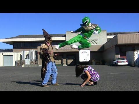 Green Ranger Fight | POWER RANGERS