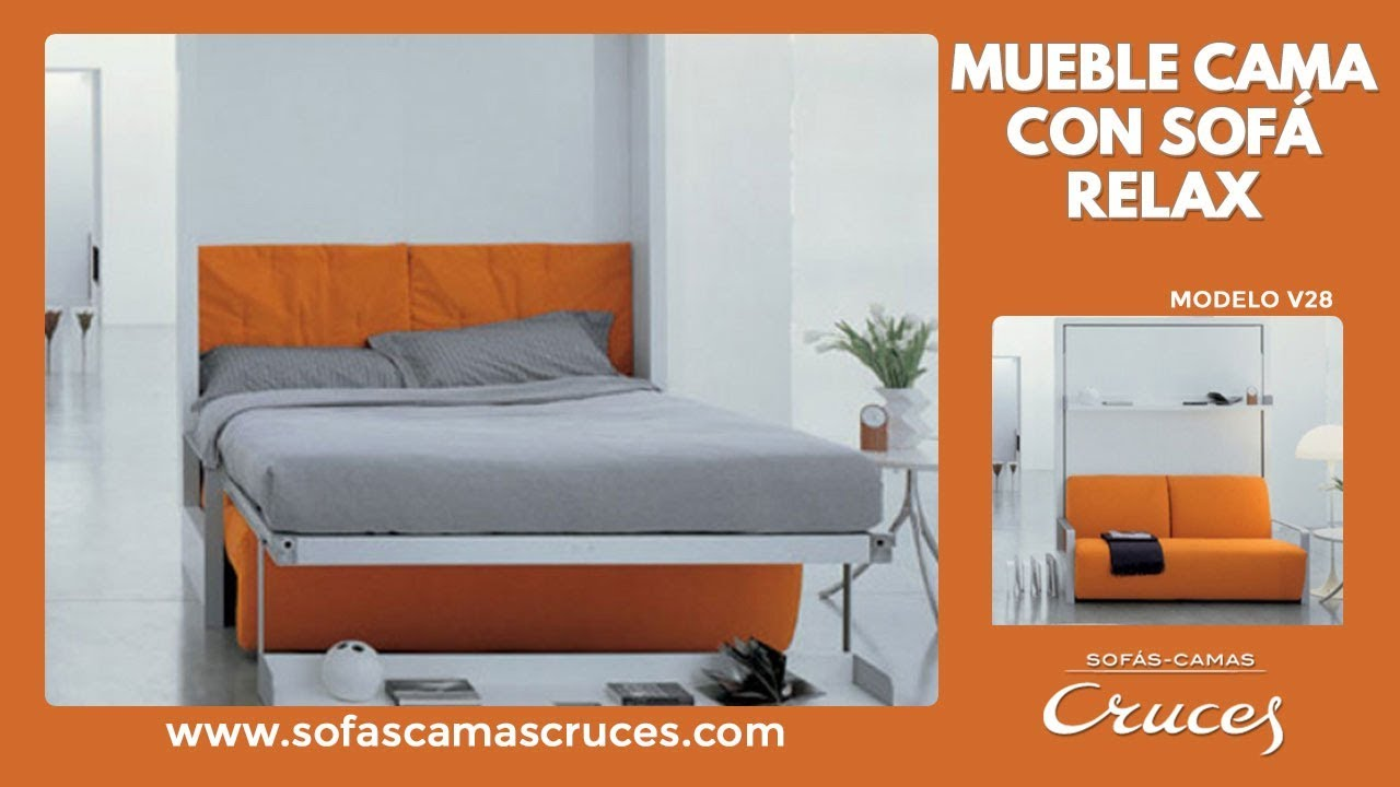 Muebles cama abatible con sof relax Impresionante
