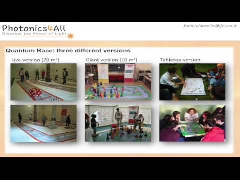 Photonics4All at the conference of the european optical society in Berlin - Fabio Chiarello