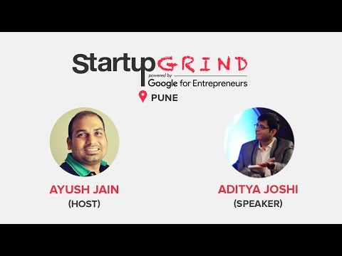 Startup Grind Pune hosts Aditya Joshi, CEO @ Quark Experiences