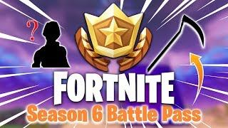 ALL FORTNITE SEASON 6 BATTLE PASS ITEMS! (Skins, Pickaxes, Gliders, Pets!)