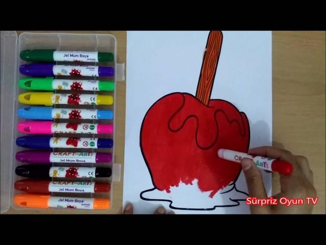 Okul öncesi şeker Boyama Gazetesujin