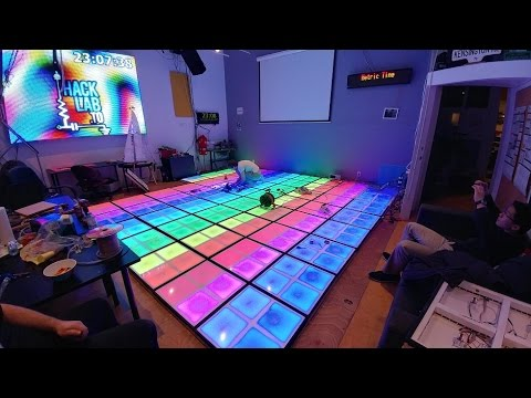 Interactive LED Dance Floor - From Start to Finish