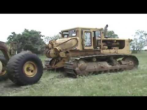 Cat D9 with LeTouneau Pull Scraper